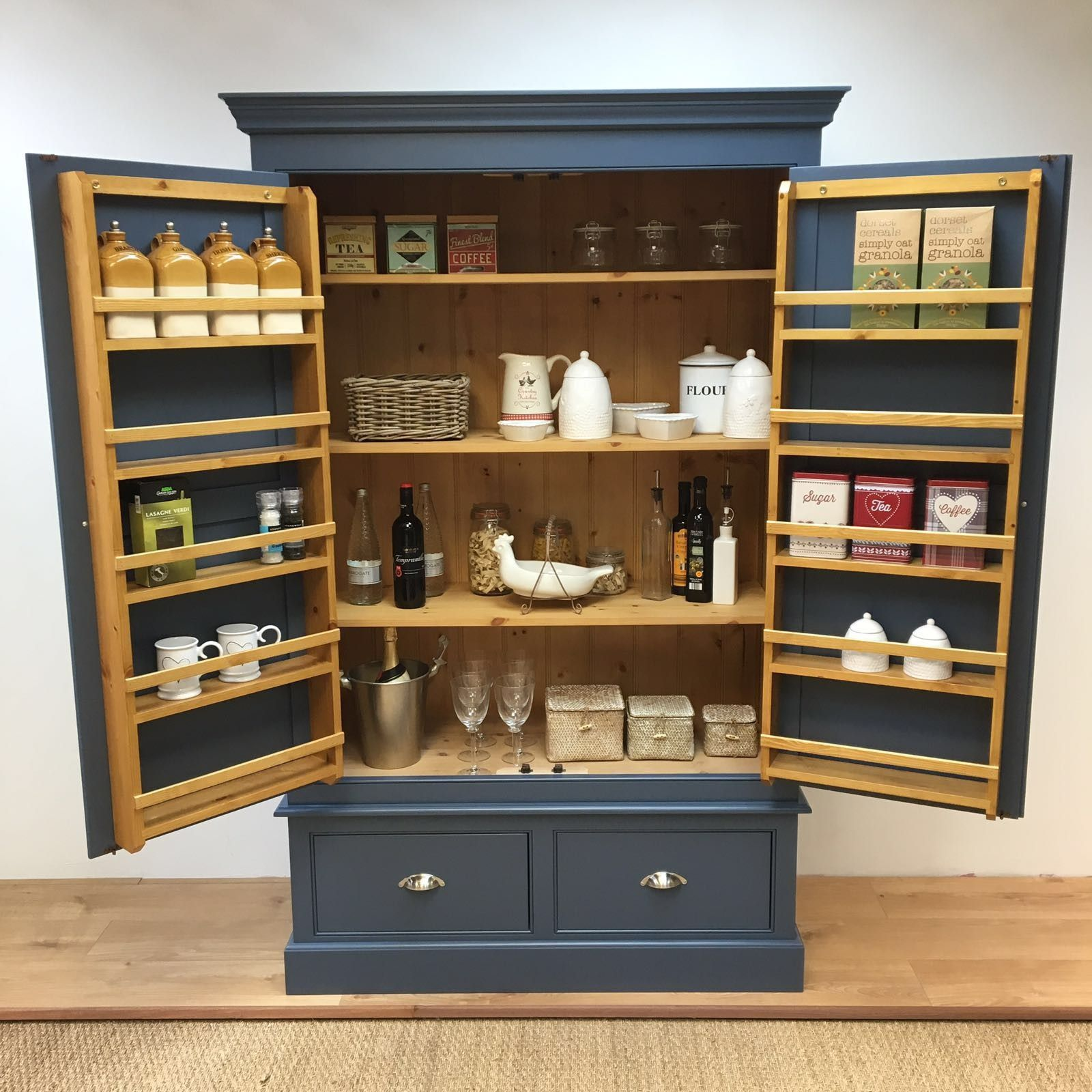 Bespoke Larder Cupboard – Bennington Style