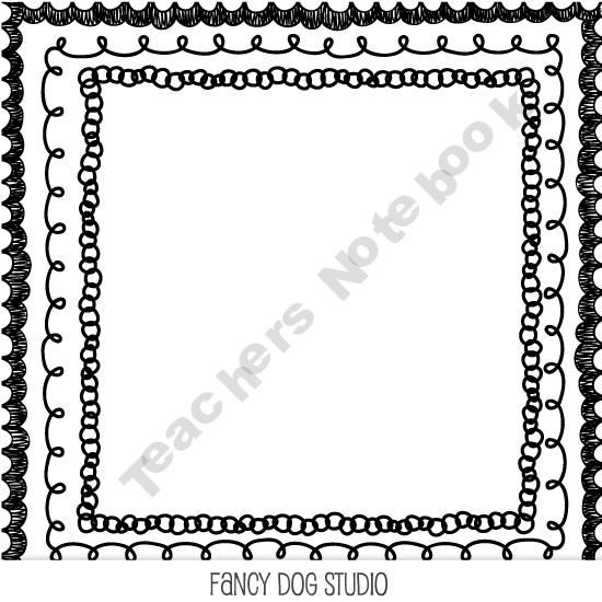 Borders For Word Documents Page Borders Design Clip Art Fancy Dog