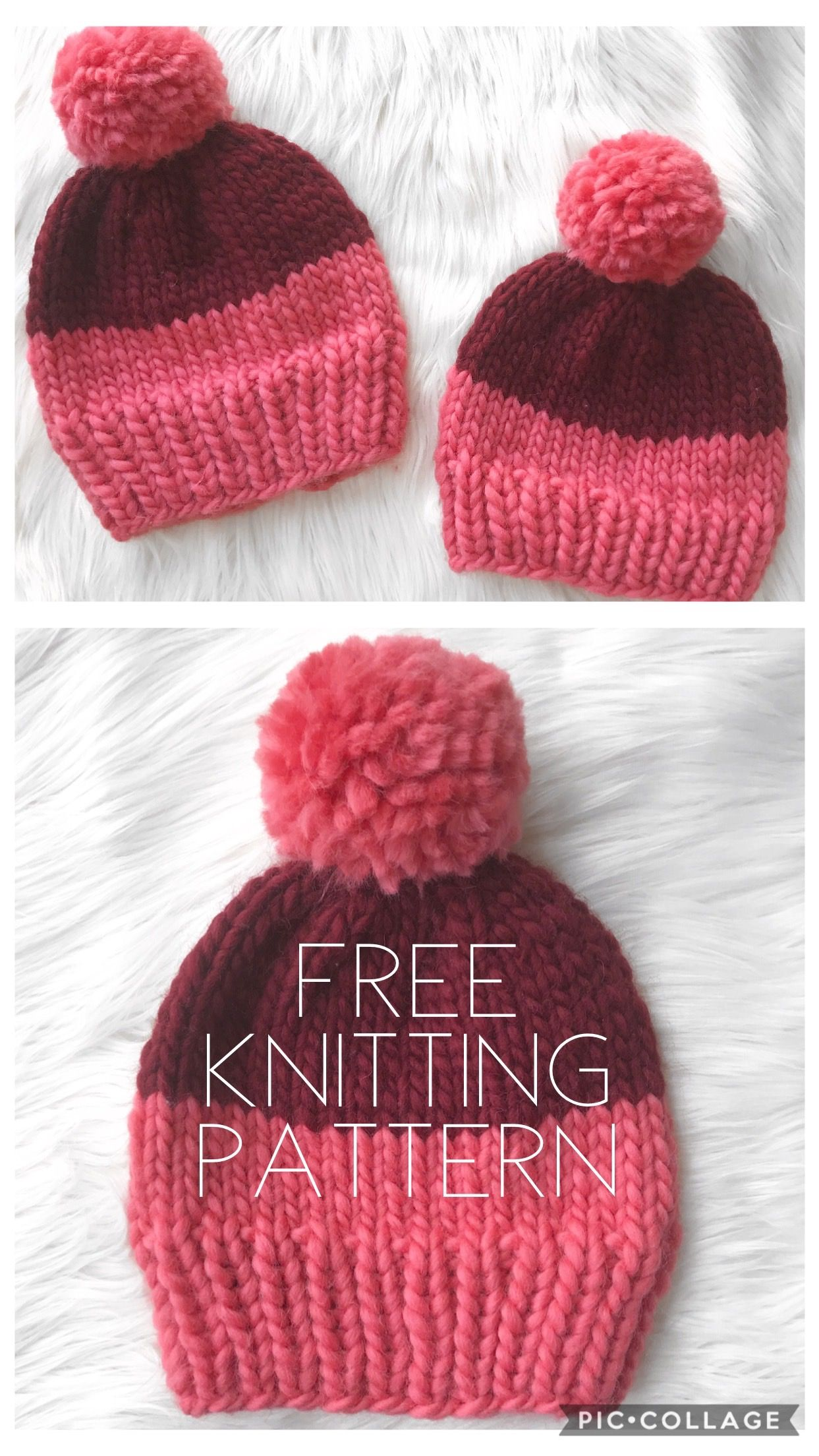 Knitting Patterns Beginners Loom