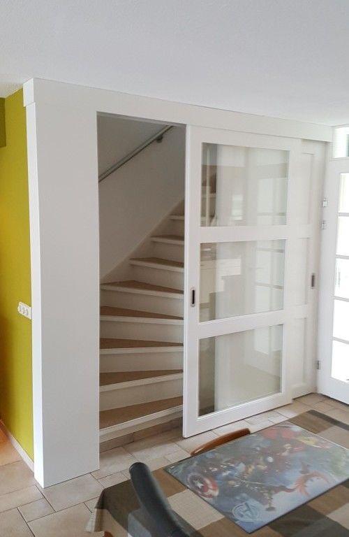 Schuifdeur trap + trapkast | Mariealena | Pinterest | Staircases
