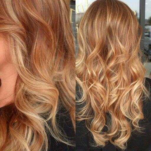 Pin By Raquel Silva On Matrimony Manes By Raquel Red Blonde Hair Hair Styles Hair Color