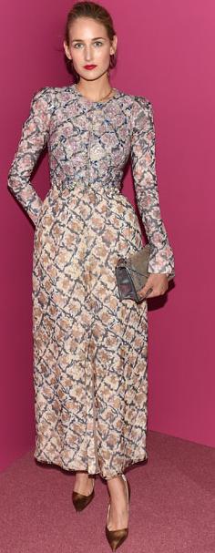 Leelee Sobieski (Dior) - Outubro 2015 (Guggenheim International Gala Dinner)