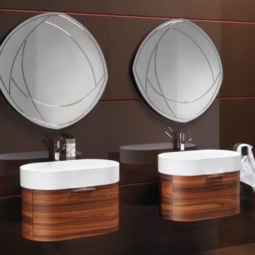 Regia Waschtisch Bilbao | Waschbecken: Tecnoglass weiß (51 ...