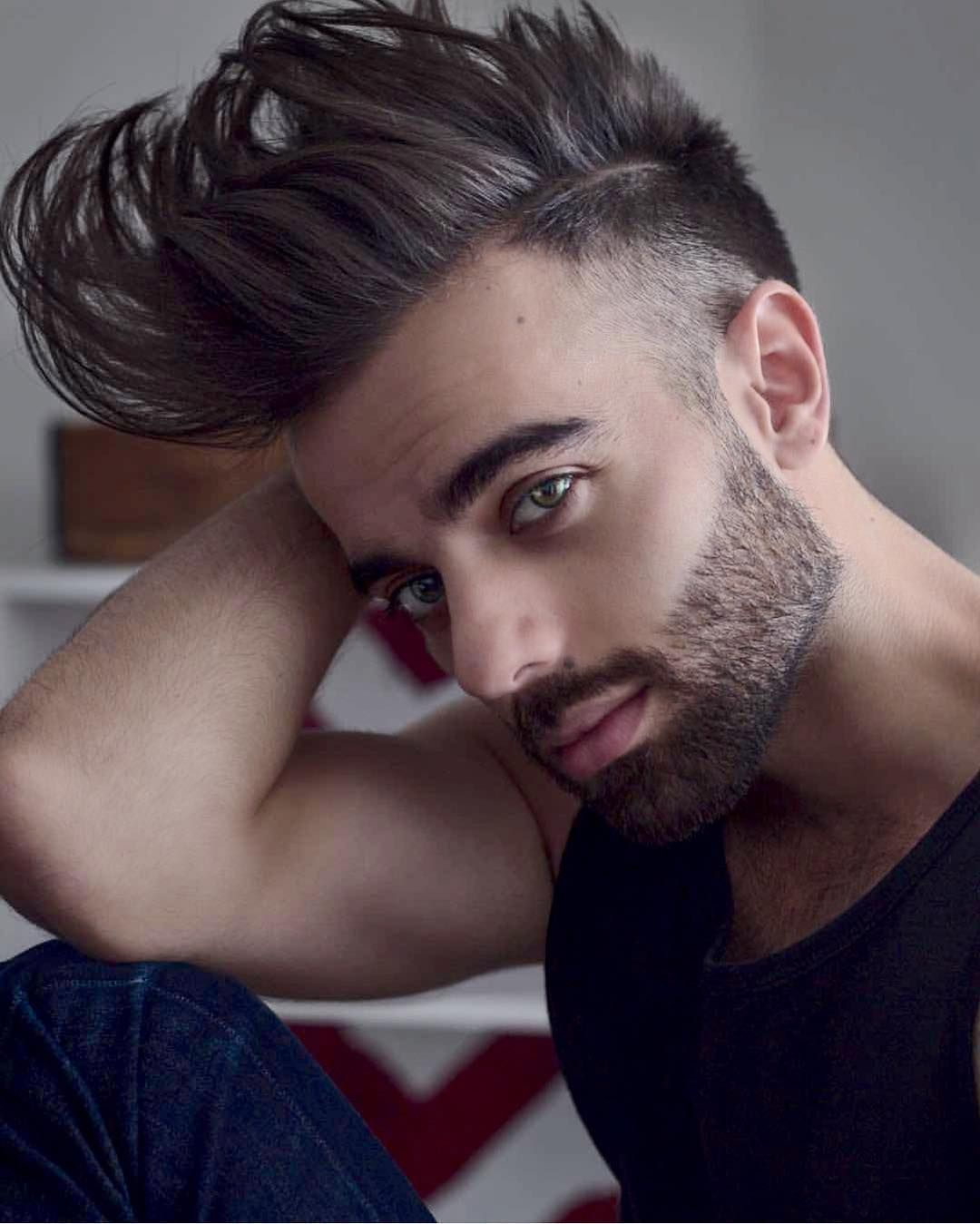 Haircuts for round faces men hairmenstyle official  hairmenstyle u fotos y vídeos de
