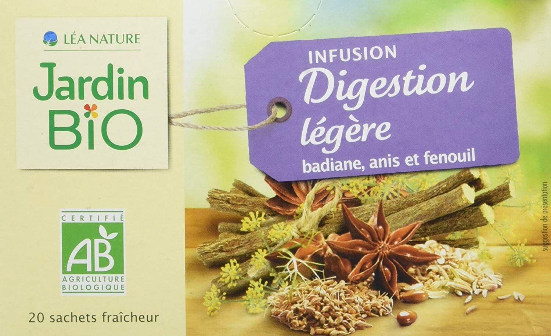 Jardin Bio Infusion Digestion Legere 30 G Lot De 4 Amazon Fr