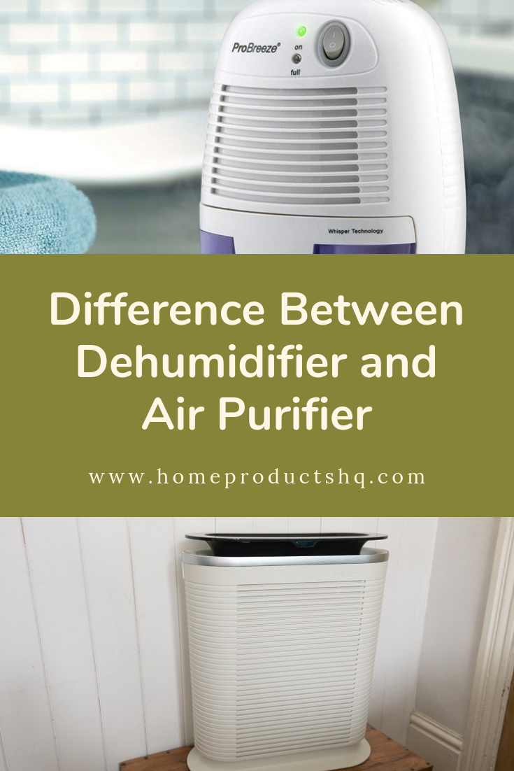 Difference Between Dehumidifier and Air Purifier Musty