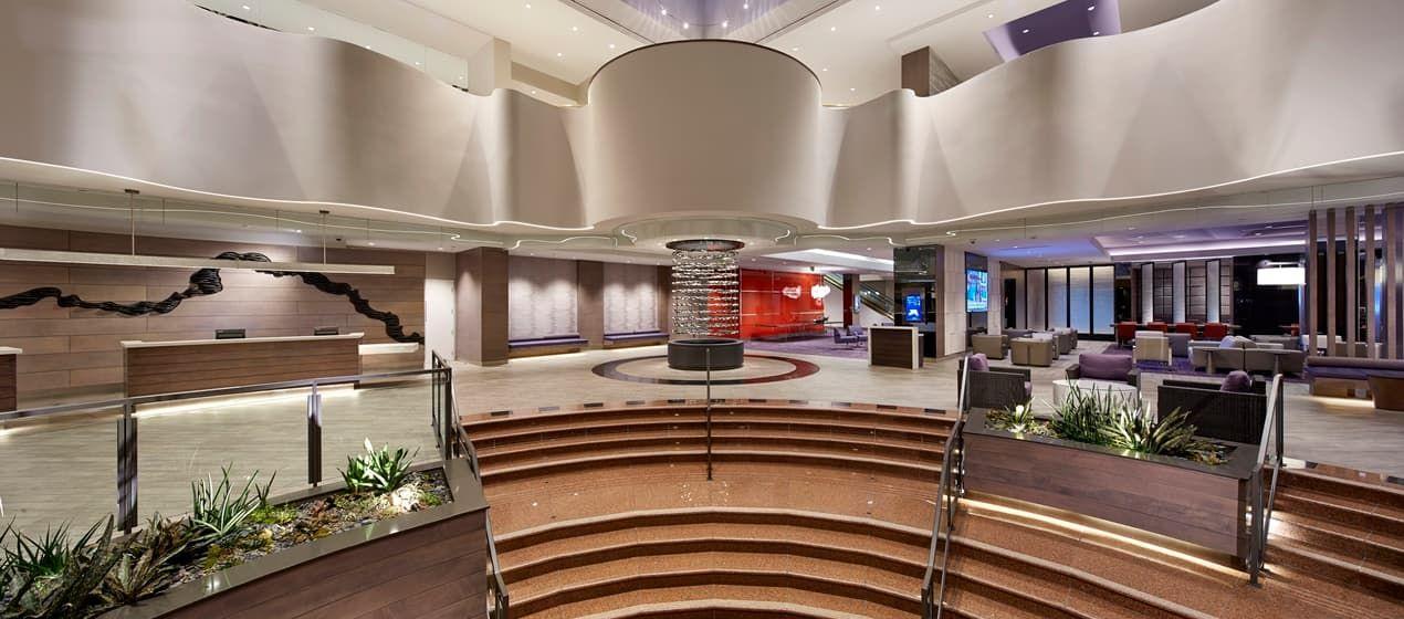 Hilton Long Beach Hotel, CA LOBBY ES FTL in 2019
