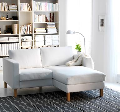Cocooning Mit Ikea Die Neuerfindung Der Gemtlichkeit Sofa Karlstad
