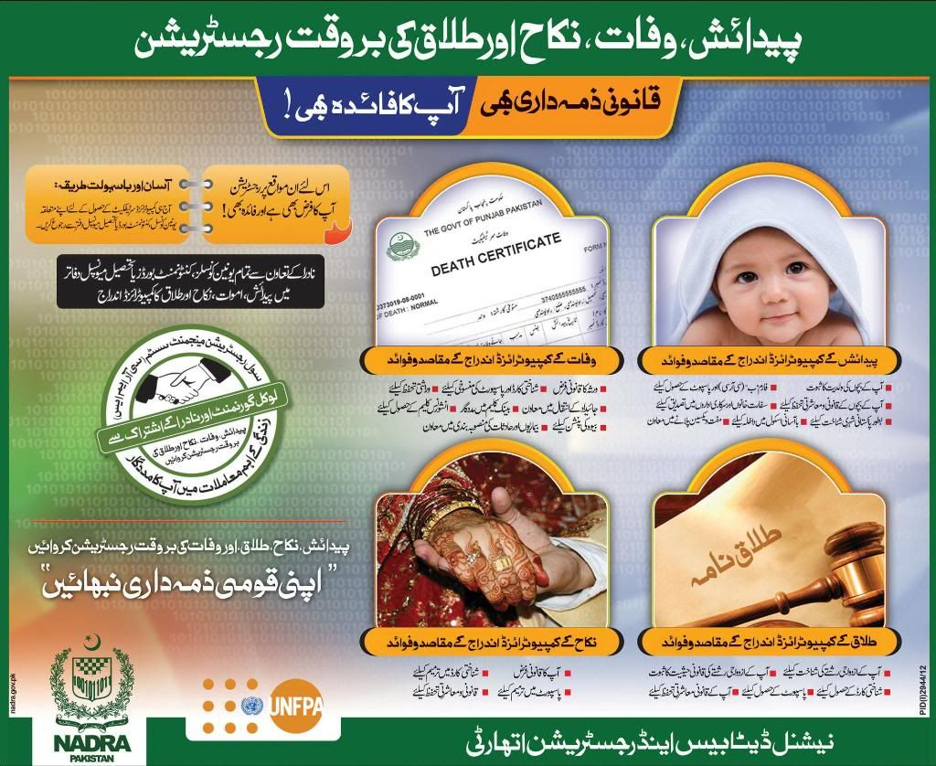 Nadra birth death certificate registration 2014 you can view the nadra birth death certificate registration 2014 you can view the complete detail in this pic 1betcityfo Gallery