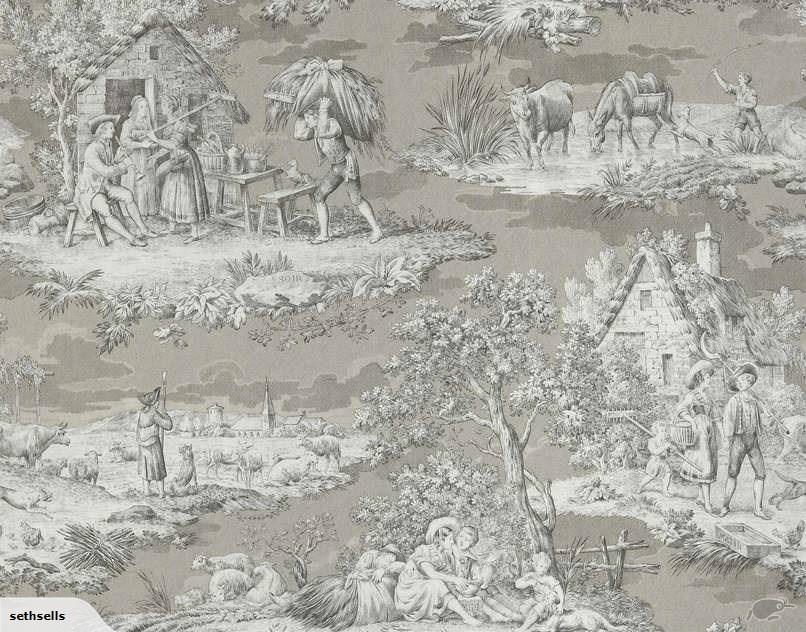 Beautiful Braquenie Matin Midi Soir Wallpaper Trade Me