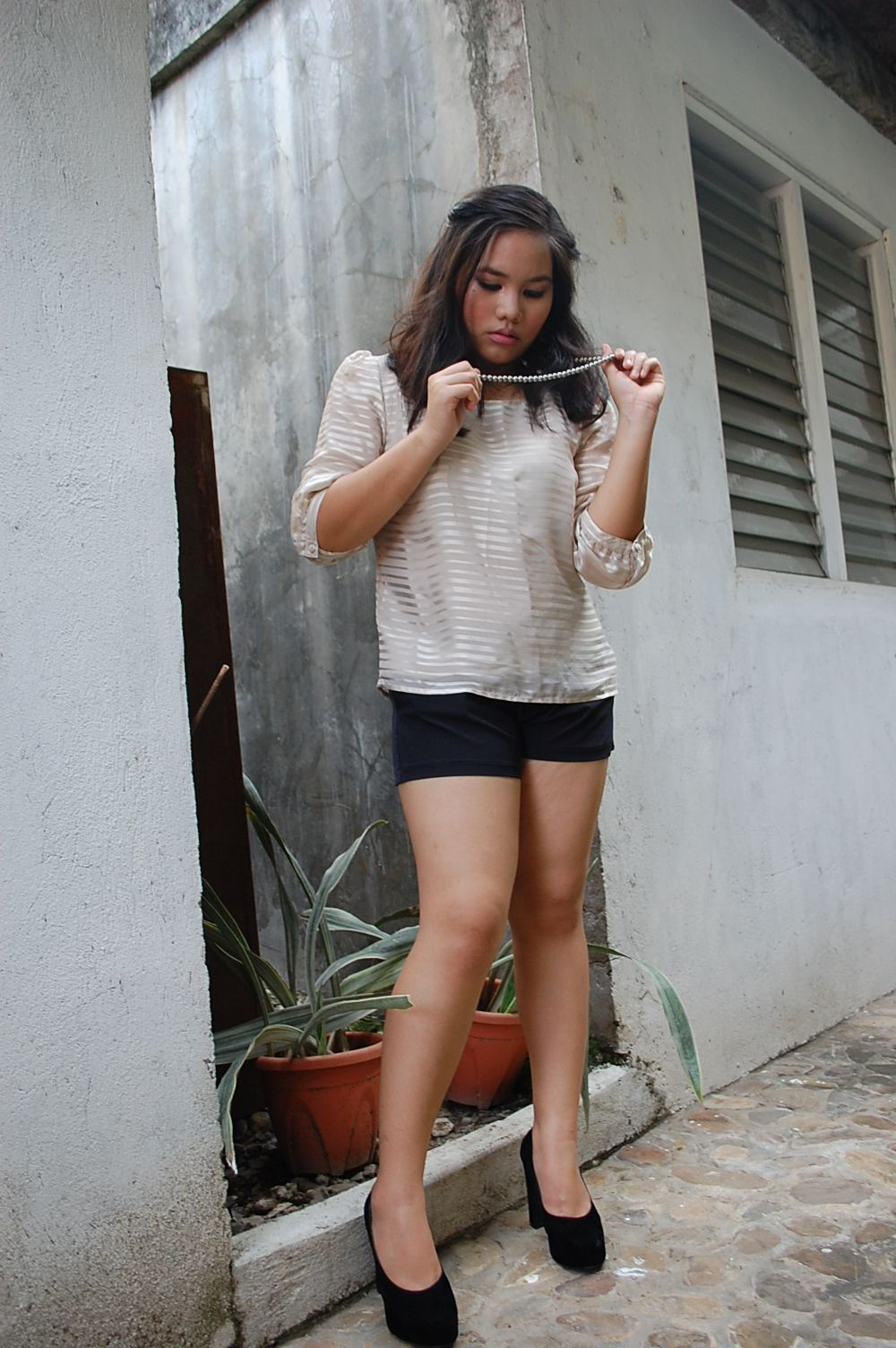 shorts from Hurley. top from H.