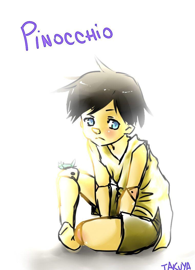 Walt Disney's Pinocchio :) by inu-p