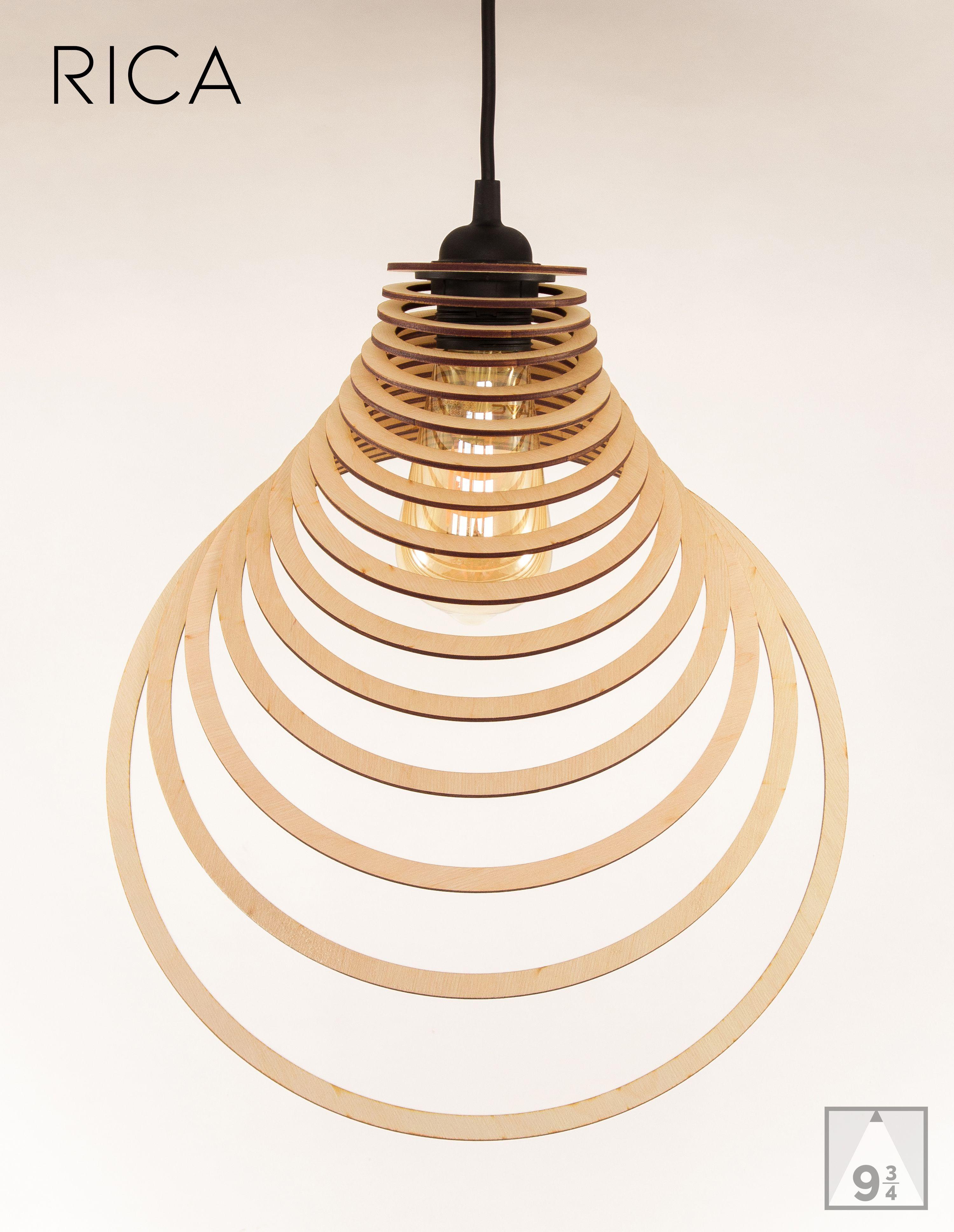 Wooden Lamp Shade Wood Lamp Hanging Lamp Pendant Light