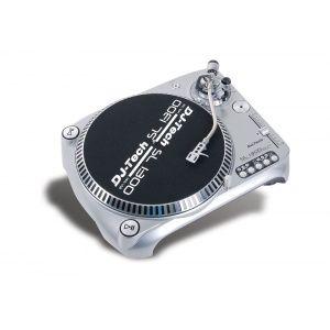 DJ Tech SL1300 Mk6 Silver Professional Direct Drive Turntable - Musical Instruments, Pro Audio / Video & Photography Gear - MyGearMonster.com
