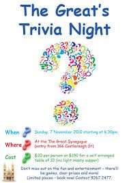 quiz night flyer template free google search flyers pinterest