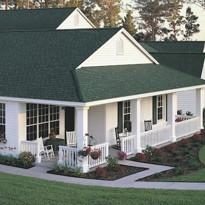 Best Owens Corning Oakridge 32 8 Sq Ft Chateau Green Laminated Architectural Roof Shingles At Lo… In 640 x 480