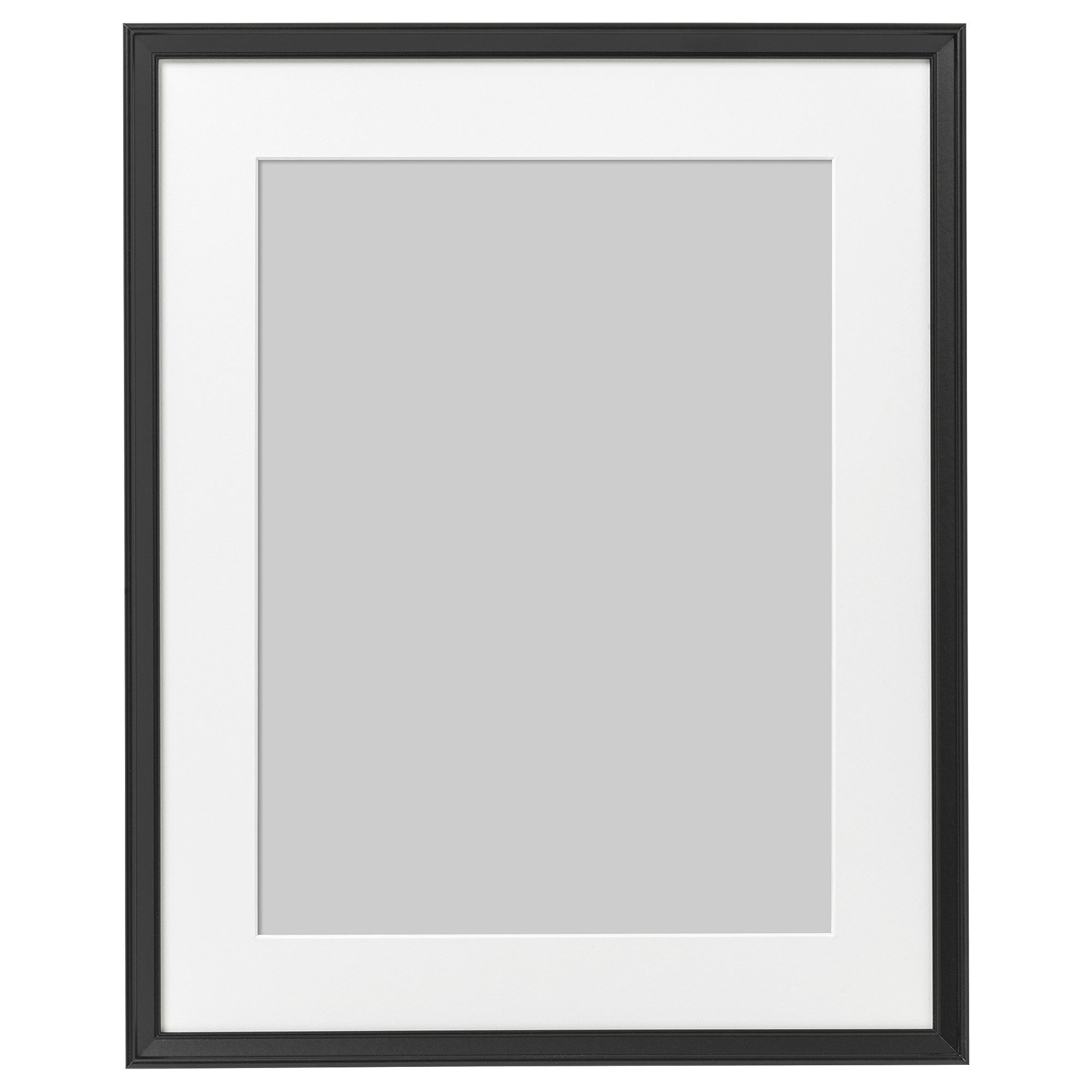 IKEA KNOPPANG Black Frame Cute picture frames, Picture