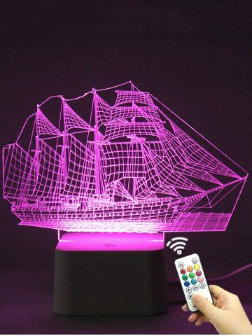 GET $50 NOW | Join RoseGal: Get YOUR $50 NOW!http://www.rosegal.com/led-lights/colorful-3d-visual-led-ship-1053712.html?seid=2275071rg1053712