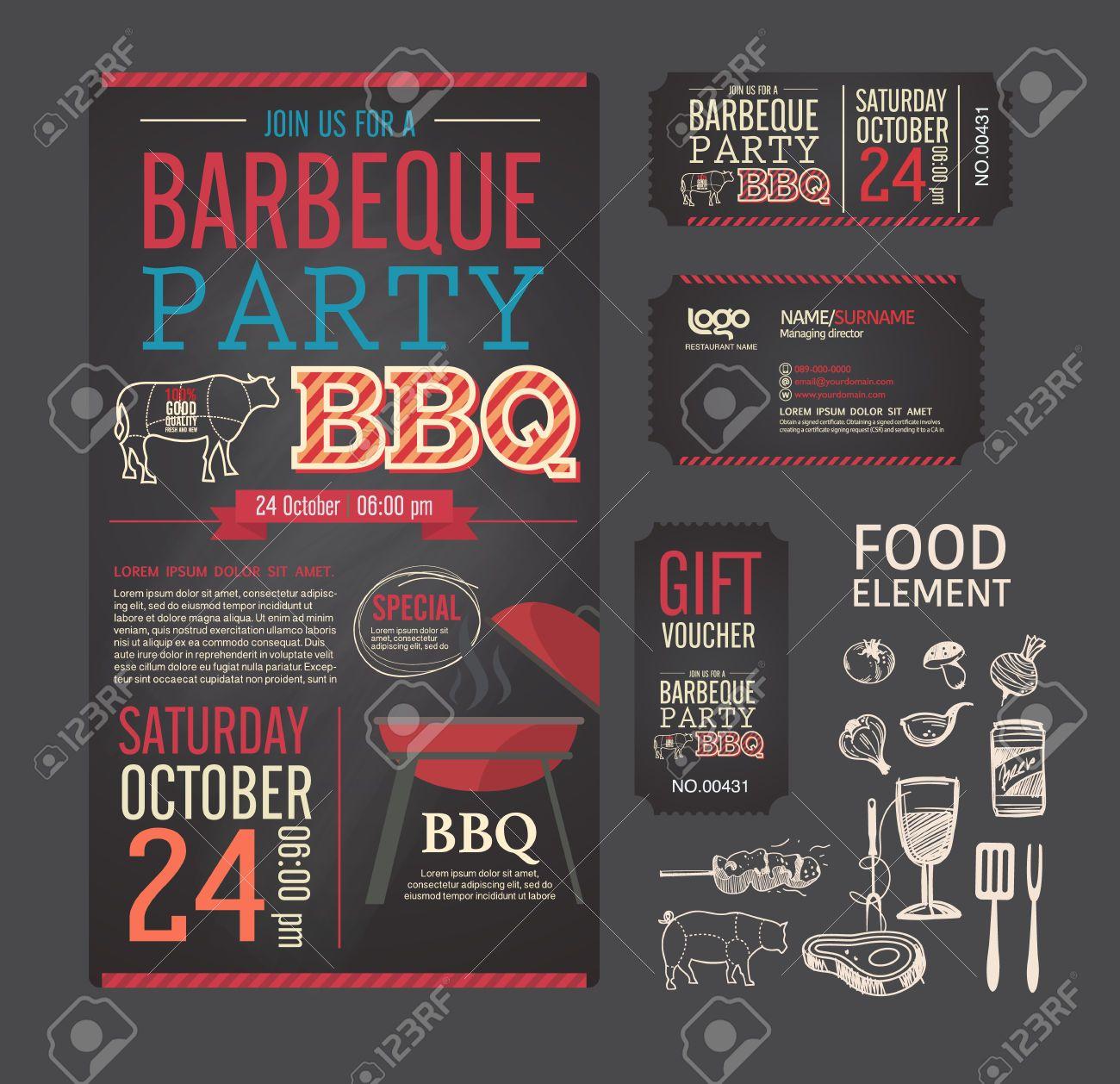 Food Tickets Template Amusing Bildergebnis Für Grillwettbewerb Plakat  Bbq  Pinterest  Chalkboards