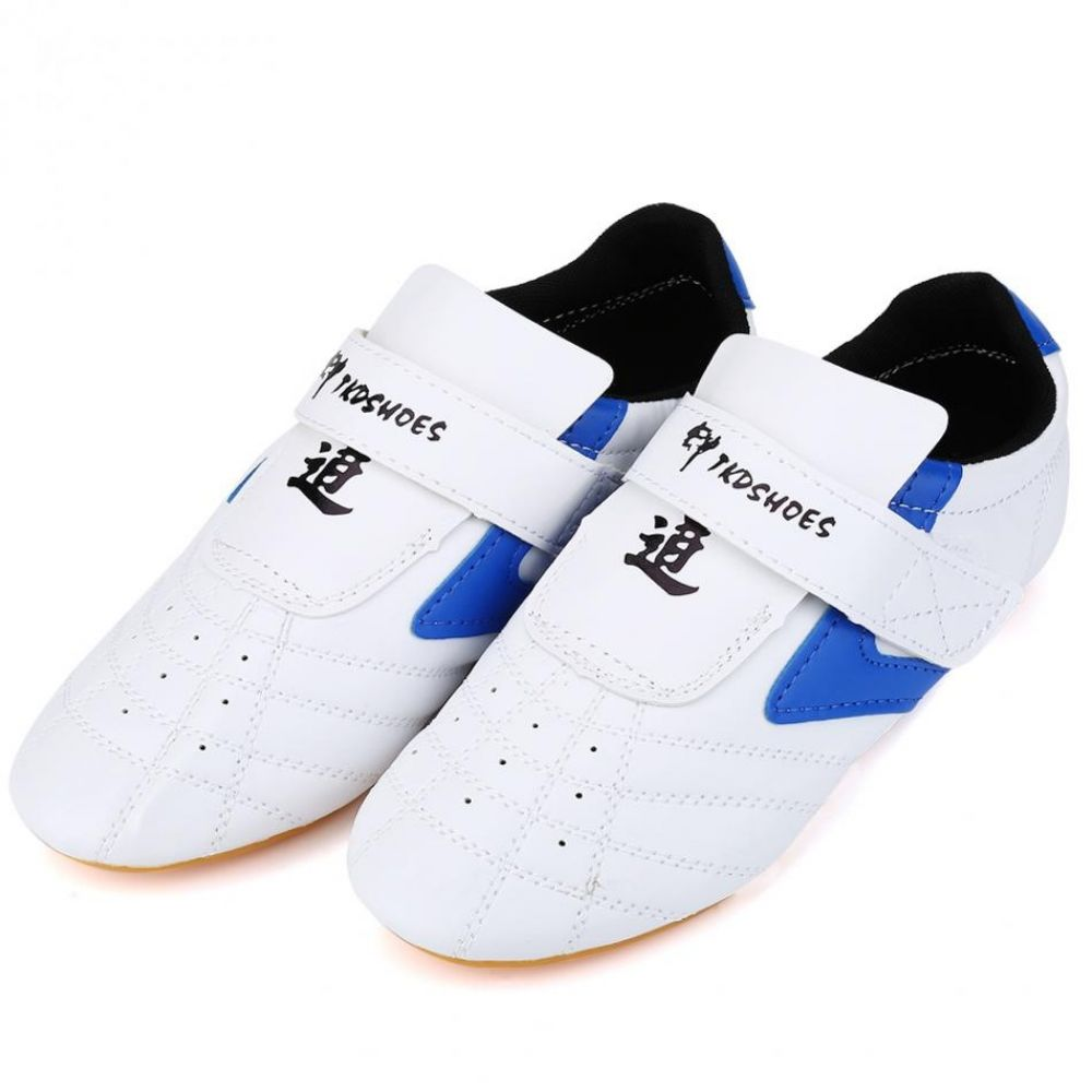 Color : White, Size : 26 Taekwondo Shoes White Mens Sports Martial Arts Shoe Breathable Kung Fu Wushu Taichi Karate Martial Arts Wrestling Sneakers