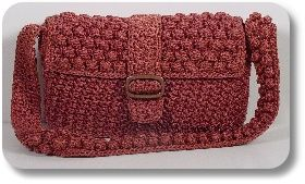 'Genteel' baguette purse pattern from CreativeYarnSource.com