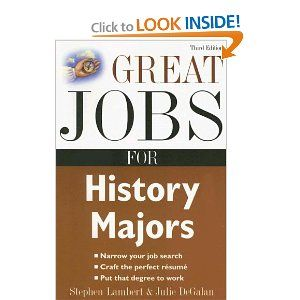 jobs for a history major