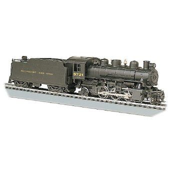 Bachmann Industries Prairie 2-6-2 HO Scale #9721 Locomotive and Tender B & O - $100