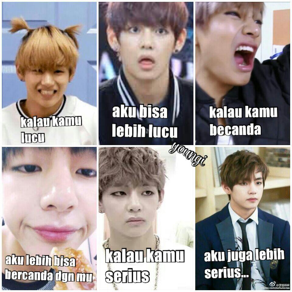 meme comik BTS part II (vkook/Taekook, namjin, yoonmin