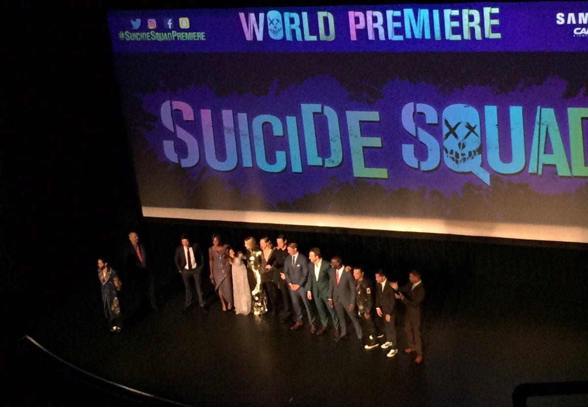 #SuicideSquadPremiere