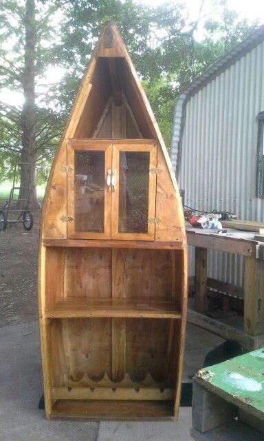 Boat Liquor Cabinet | Woodworking bench plans, Wood ...