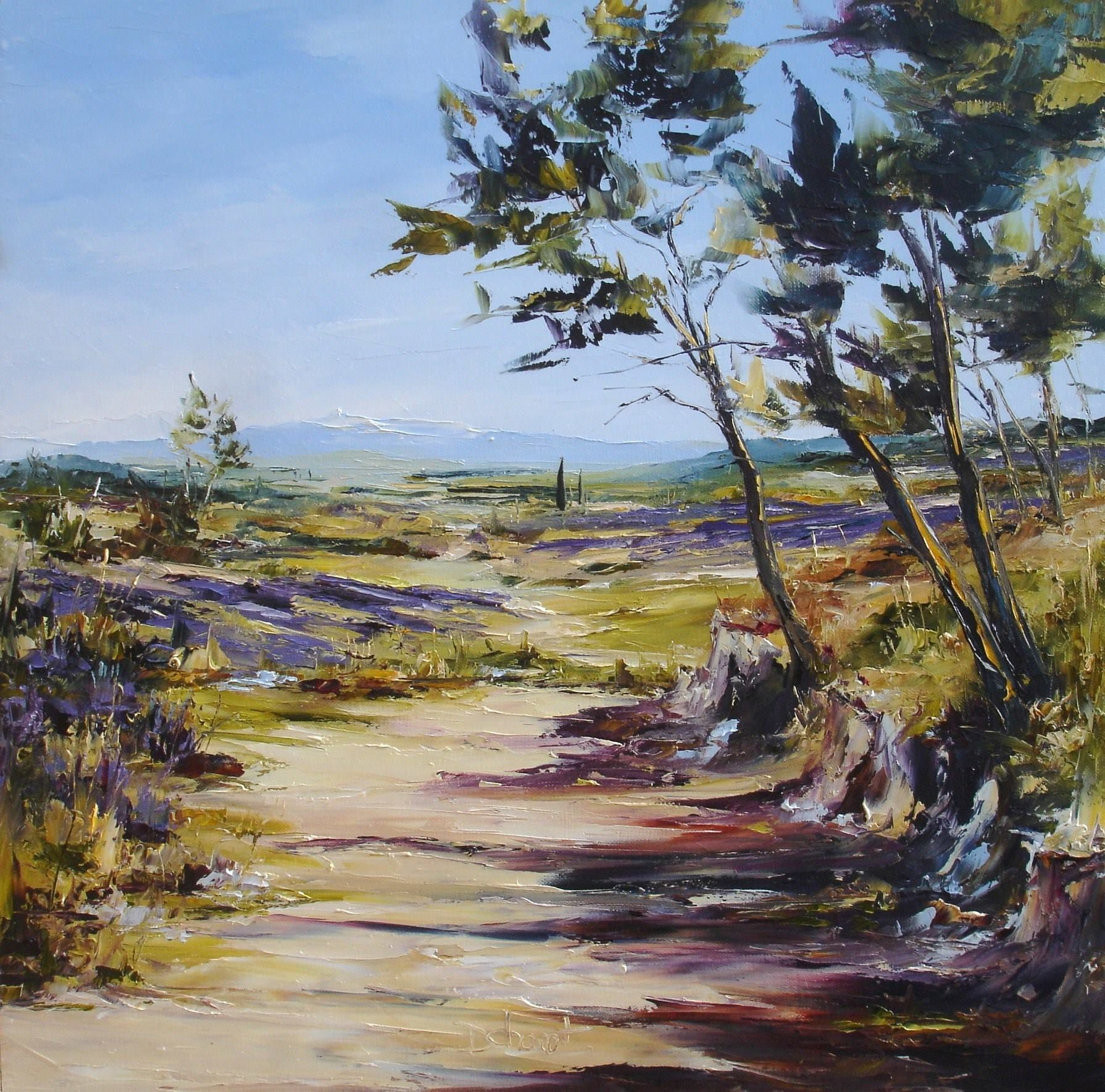 Denis Cheret Peinture Paysage Peinture Dessin Artiste Peintre