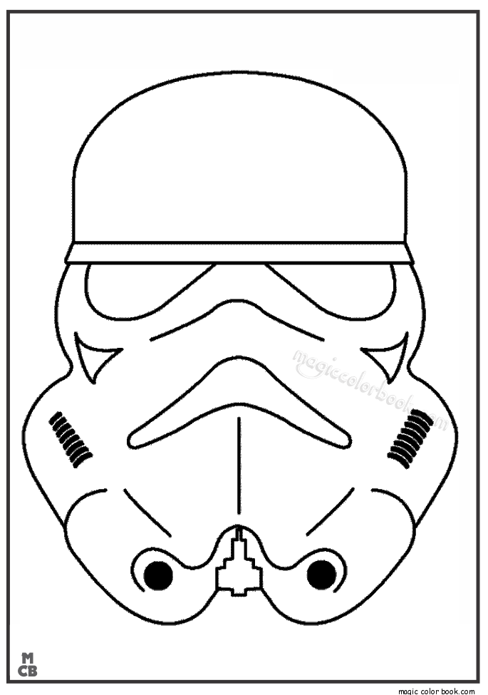 Pin by Magic Color Book on Star Wars Coloring pages free ...