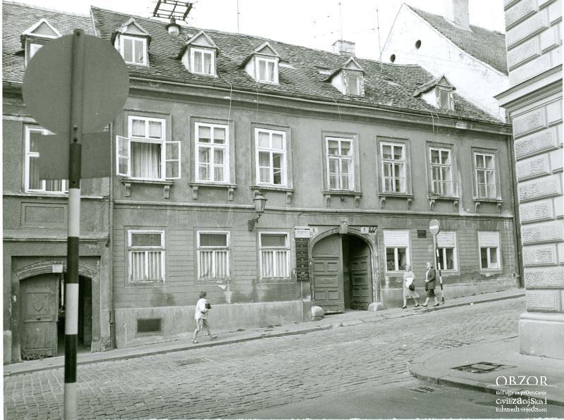 Gornji Grad I Brezovacka Ulica Lokacija Gornji Grad Zagreb Gornji Grad Grad