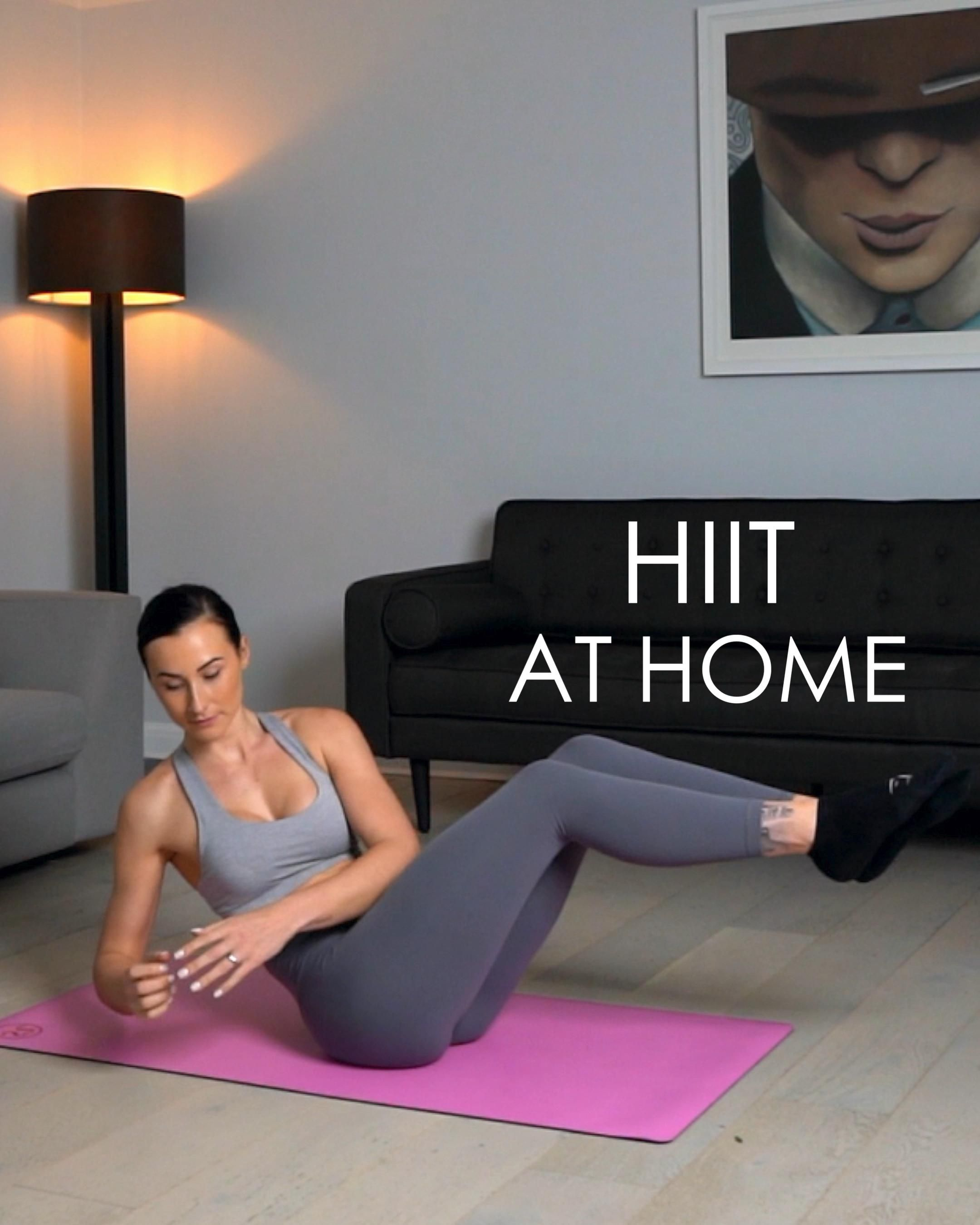 HIIT at home