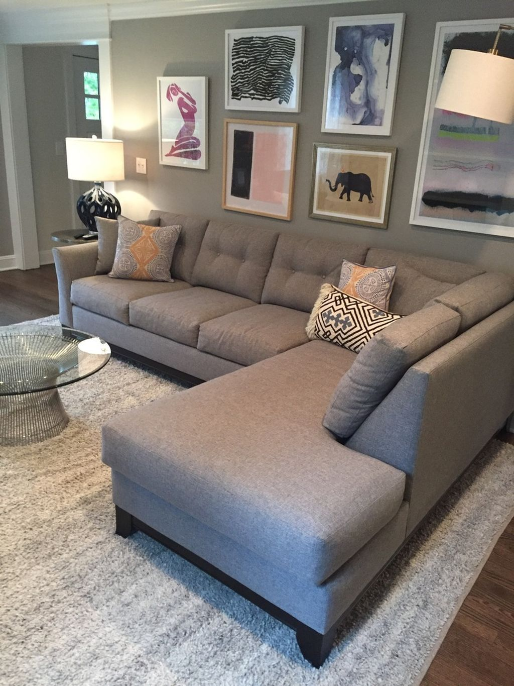 96+ Comfortable Ashley Sectional Sofa Ideas For Living ...