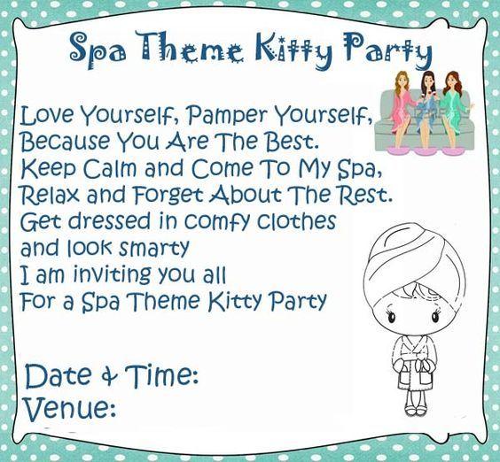 Spa theme kitty party games and ideas ladies kitty party spa spa theme kitty party games and ideas solutioingenieria Gallery