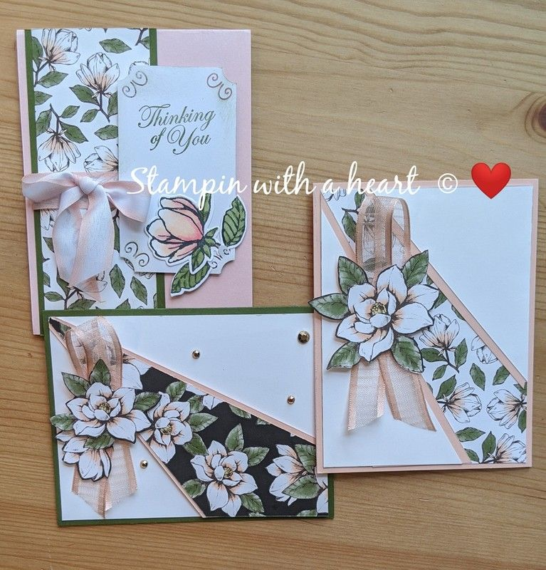 Different Types Of Cards With Any Dsp Left Overs Designer Paper Cards Magnolia Stamps Swing Card