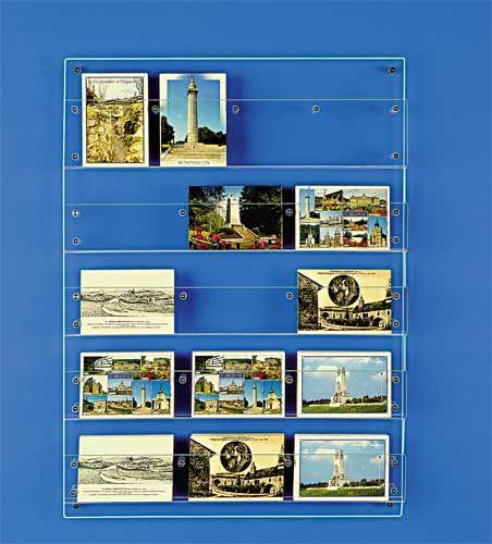 PRESENTOIR CARTES POSTALES MURAL en 2019   Presentoir carte postale, Presentoir et Parement mural