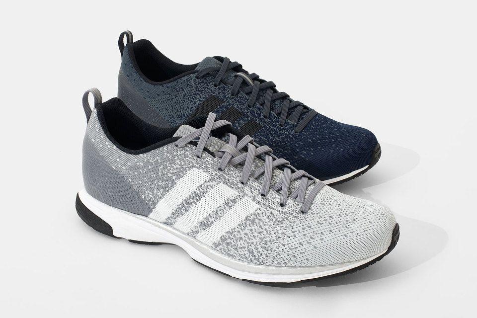 zapatillas adidas grises con azul