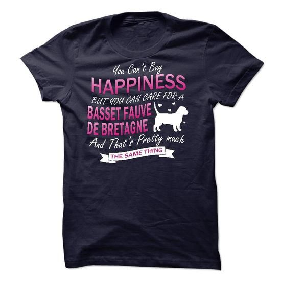 Cool #TeeForBasset Fauve de Bretagne I Love My Basset… - Basset Fauve de Bretagne Awesome Shirt - (*_*)
