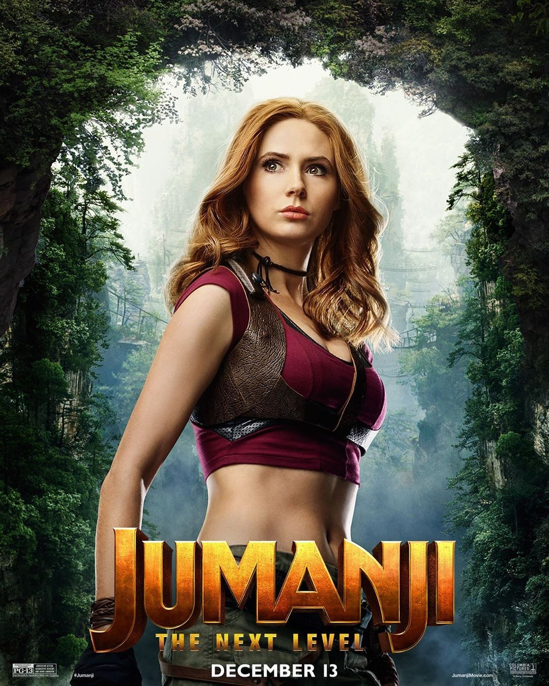 Ruby Roundhouse Is Back For Another Dance Fight Jumanji