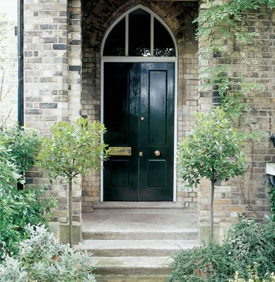 This lovely victorian front door is dulux heritage brunswick green home exteriors pinterest - Heritage paint colours exterior pict ...