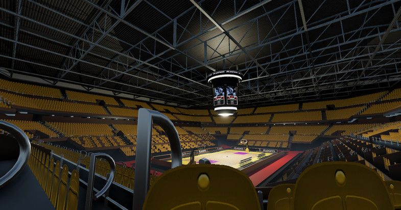 Indoor Basketball Stadium 3d Industrial Unity Asset Store Indoor Basketball Indoor Basketball Court Stadium