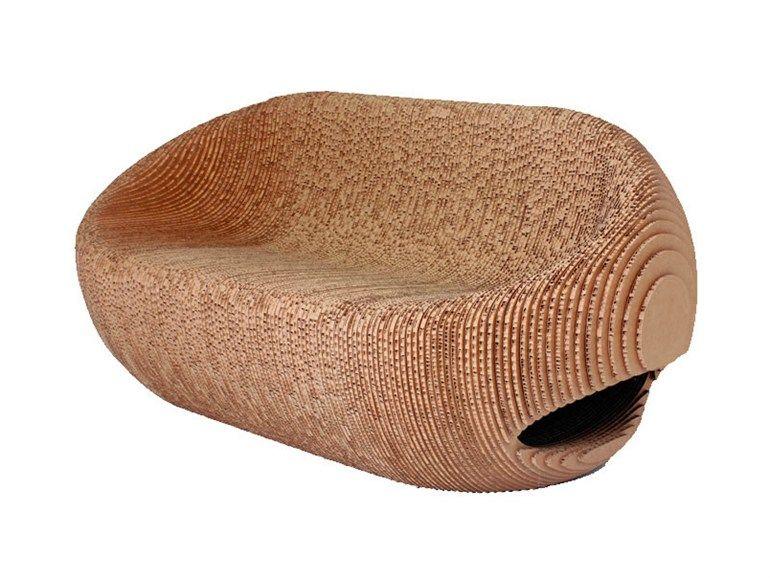 Cardboard sofa CANYON