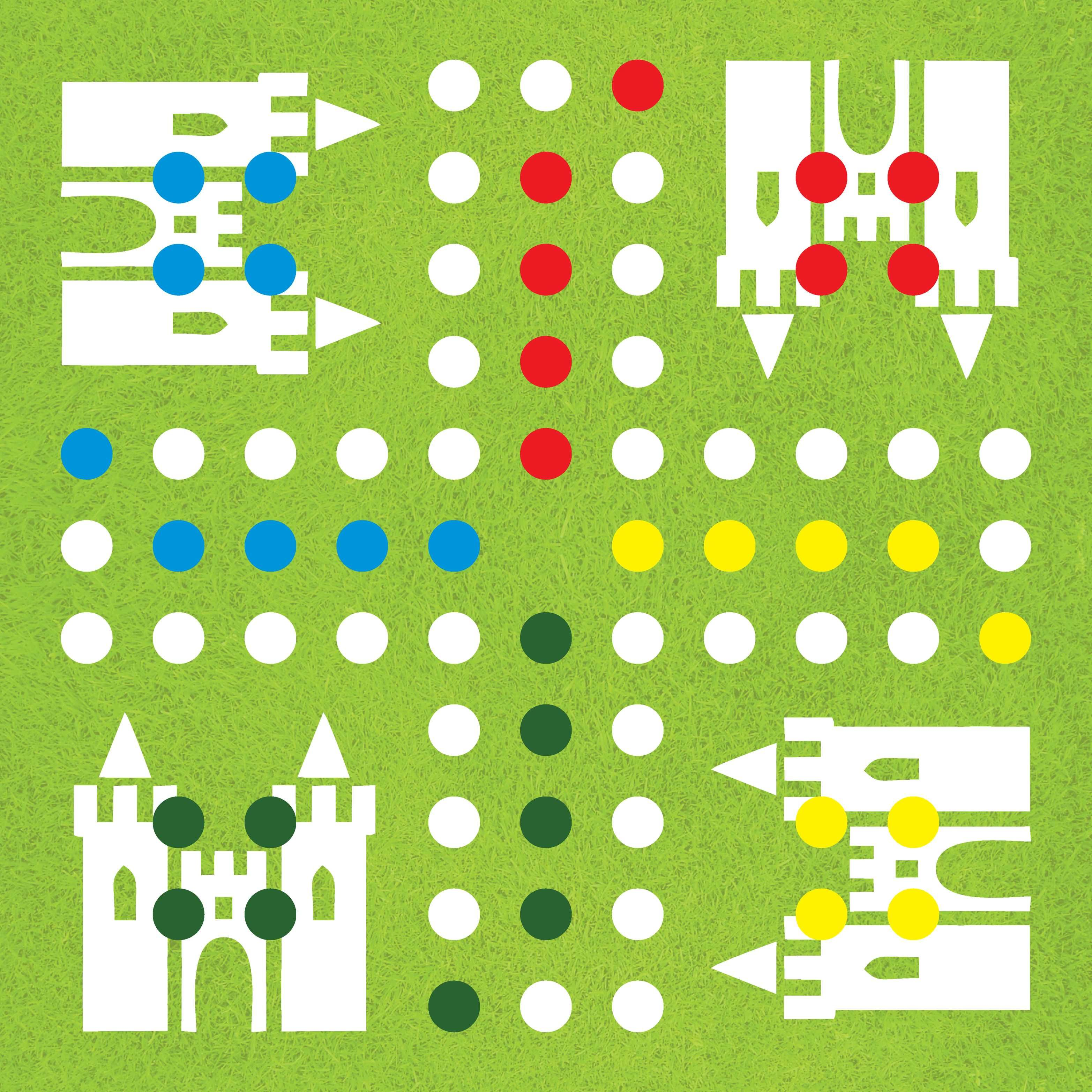 Diy Ludo Board Game Template Board Game Pinterest Board