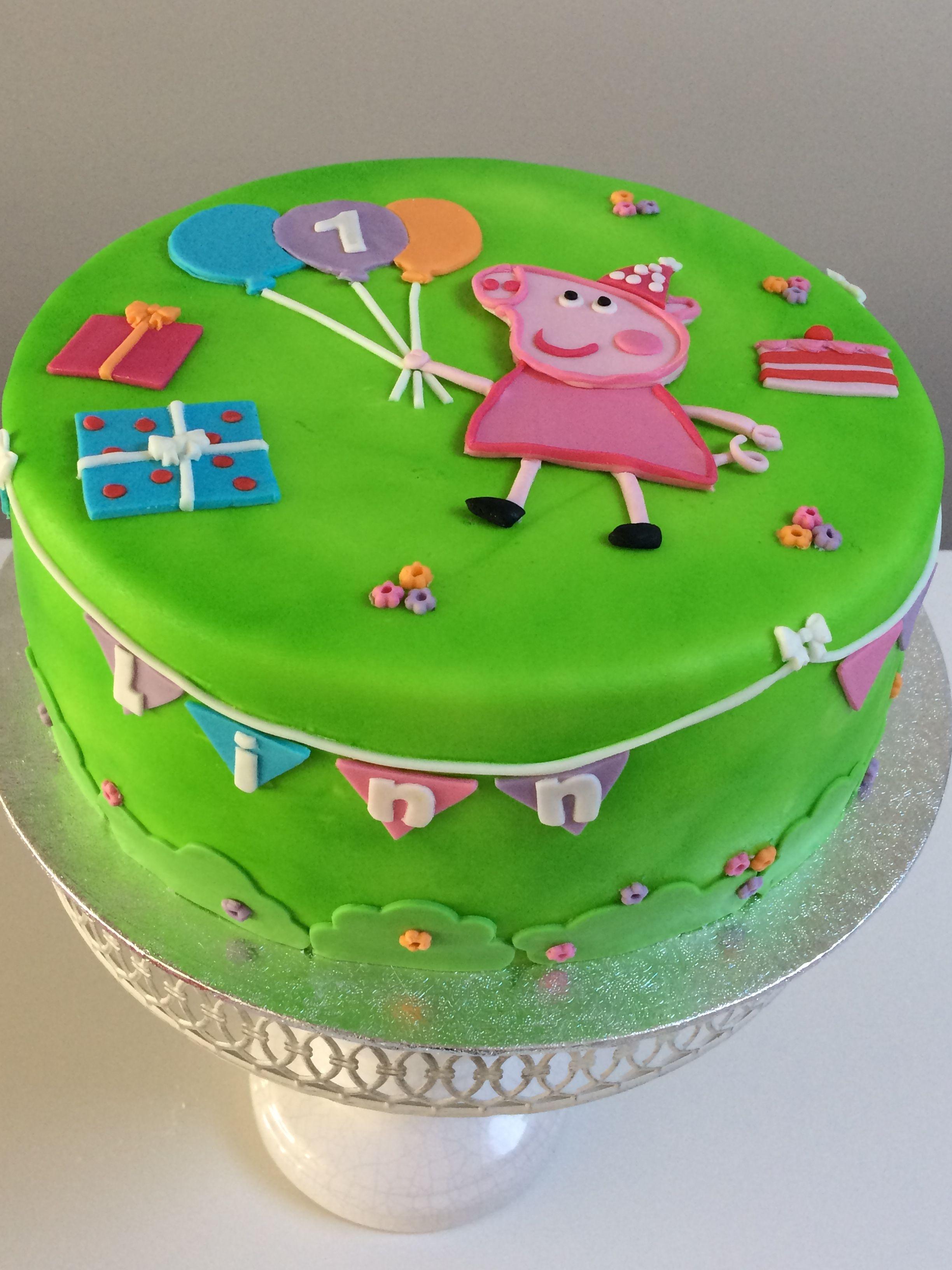 Peppa Pig Taart Taart Cupcakes Peppa Pig