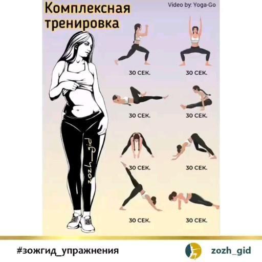 Комплексная тренировка для всего тела