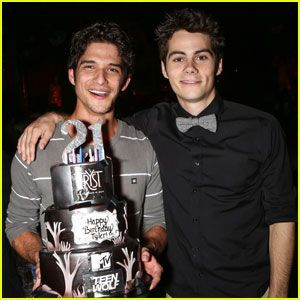 Photo of Tyler Posey: 21st Birthday Party with Dylan O'Brien! –  Tyler Posey: 21st Birt…