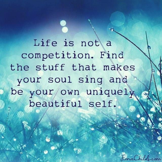 Be your own uniquely beautiful self! You are AMAZING! #Free2Luv ❤