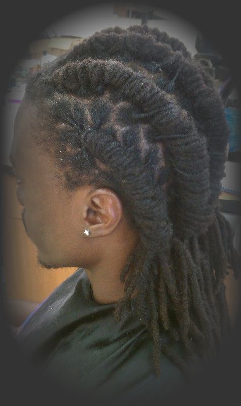 Remarkable Braided Dreads Designs Natural And Extentions Hairstyles That Hairstyles For Women Draintrainus